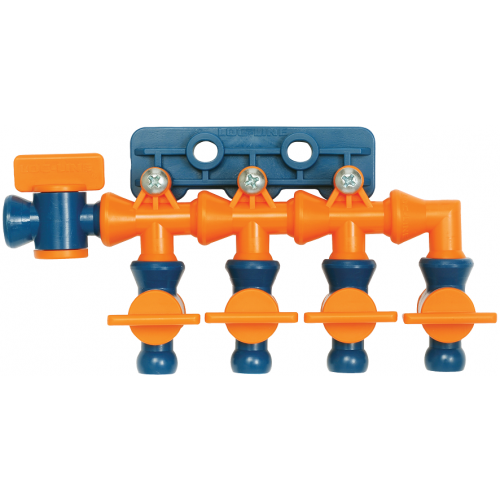 """Loc-Line 1/4"""" Total Flow Control Manifold for 1/4"""" ID System. 21198 *6 pcs*"""