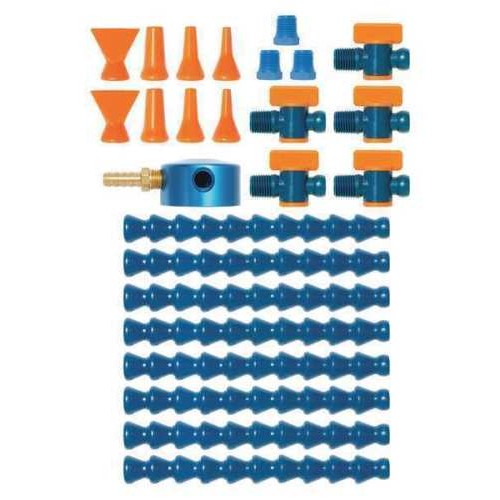 "Loc-Line Magnetic Base Manifold Super Kit for 1/4"" System. 40480. *26 pcs*"