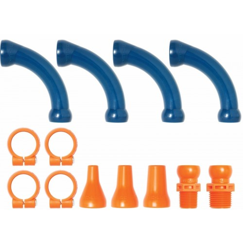 "Loc-Line Extended Elbow Kit for 1/2"" ID System 50872"