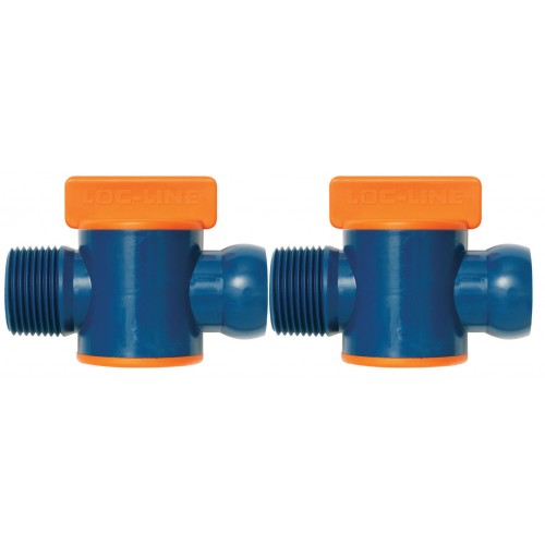 "Loc-Line 3/4"" Male NPT Valve 61516 *pack of 2*"