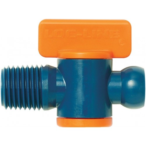 """Loc-Line 1/4"""" Male NPT Valve. Comes with *Pack of 2* or *Pack of 10*"""