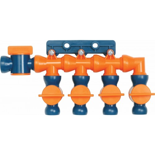 "Loc-Line Total Flow Control Manifold Kit for 1/2"" ID System 32098"