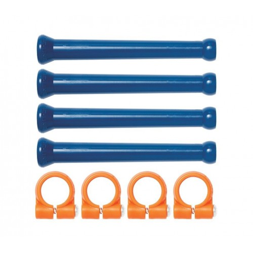 """Loc-Line 1/4"""" Extended Element Kit with Clamps. 41475"""