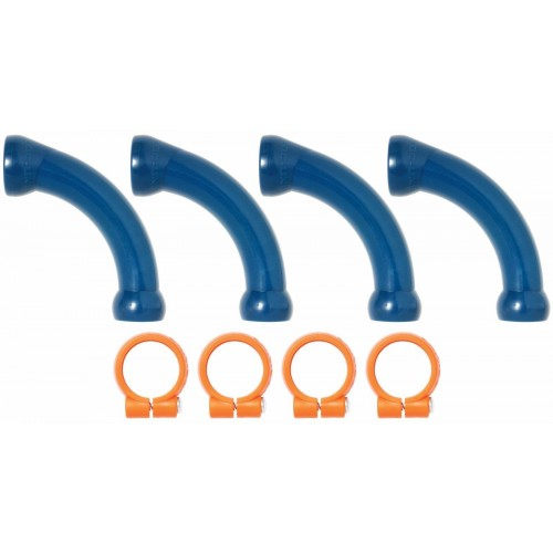 "Loc-Line Extended Elbow with Clamps Kit for 1/2"" ID System 50874"