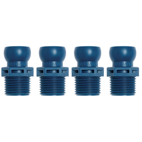 """Loc-Line 1/2"""" BSPT Connector for 1/2"""" ID System"""